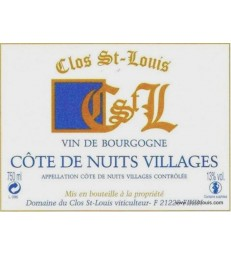 CLOS SAINT LOUIS 2013