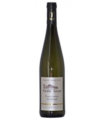 GEWURZTRAMINER GRAND CRU KAEFFERKOPF DOMAINE ADAM 2014